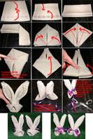pliage de serviettes de table en papier pliage de papier origami deocration de table plier. Black Bedroom Furniture Sets. Home Design Ideas