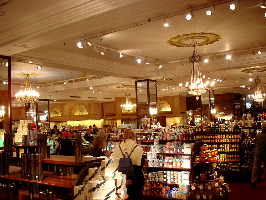 Magasin fortnum and mason londres angleterre habitudes culinaires gastrono - Magasin de luxe londres ...