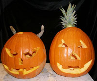 Comment creuser et d corer votre citrouille pour l - Comment decorer sa maison pour halloween ...