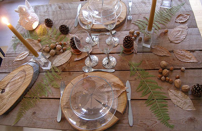 table de no l rustique france gastronomie recettes de. Black Bedroom Furniture Sets. Home Design Ideas
