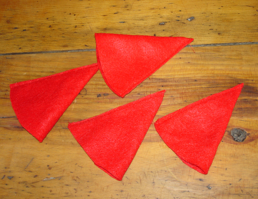 vente la moins chère nouveau sélection commander en ligne lutin ou gnome de Noël ronds de serviette pour décorer vos ...