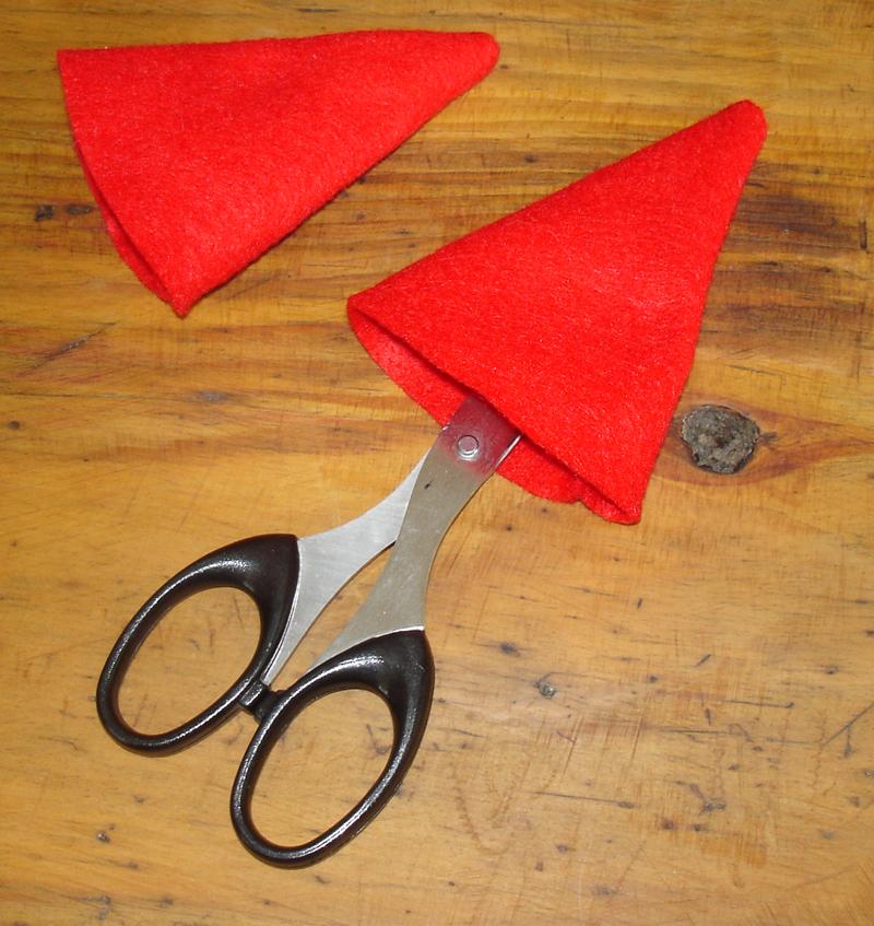 Lutin ou gnome de no l ronds de serviette pour d corer vos tables de f te decoration de plats - Fabrication d un pere noel ...
