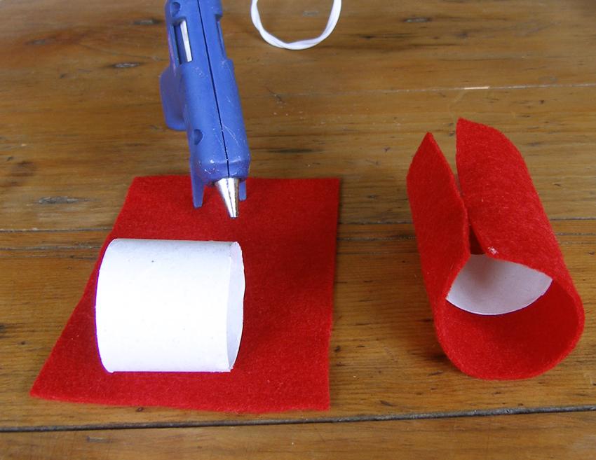 lutin ou gnome de no l ronds de serviette pour d corer vos tables de f te decoration de plats. Black Bedroom Furniture Sets. Home Design Ideas