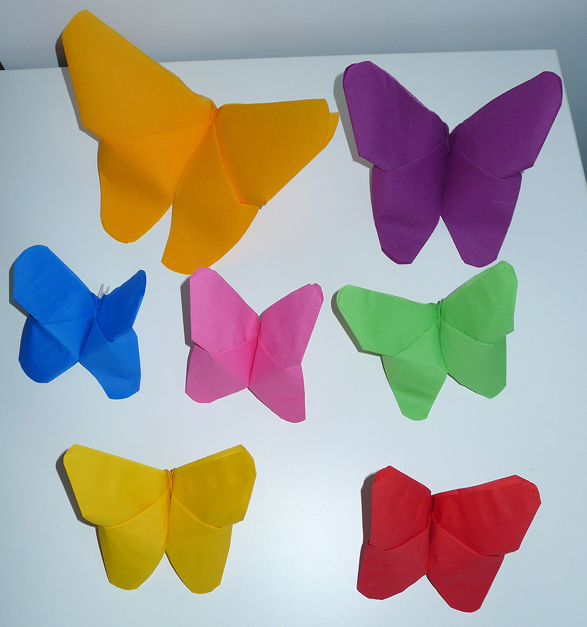Pliage Serviette Papillon En Paper Mache Crafts