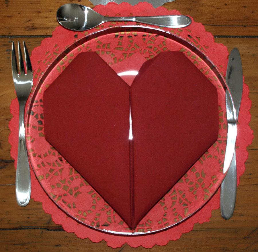Pliage En Papier Réaliser Un Coeur En Papier Pliage De