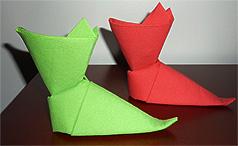 Pliage de serviette noel en papier facile - Sapin en serviette en papier ...
