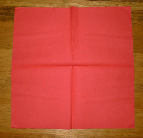 Lotus En Serviette De Papier : lotus avec une serviette en papier , lart du pliage de serviettes de