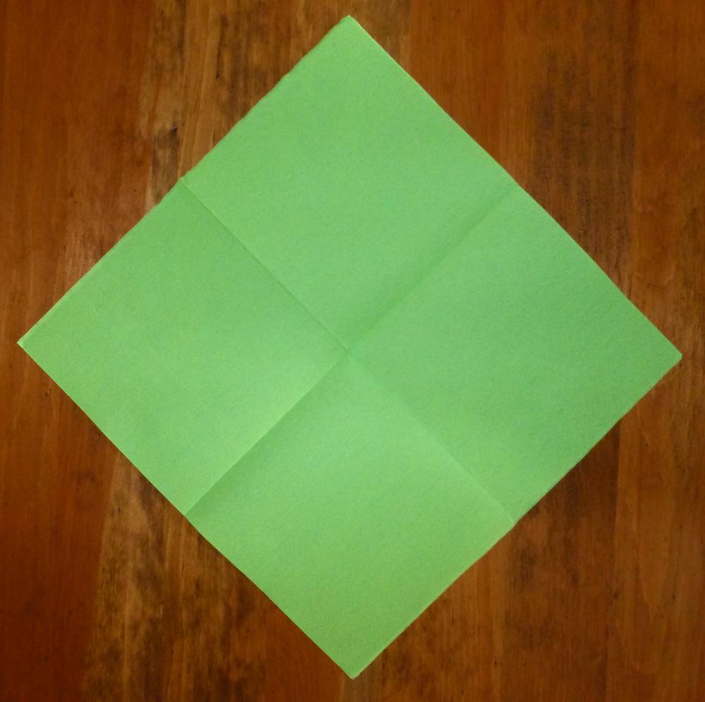Pliage De Serviette De Table En Forme De Lapin De P Ques Plier Une Serviette De Table En Papier