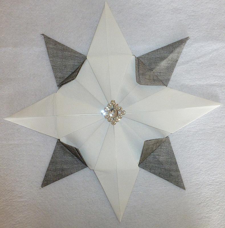 Pliage De Serviette De Table En Forme D étoile Etoile En
