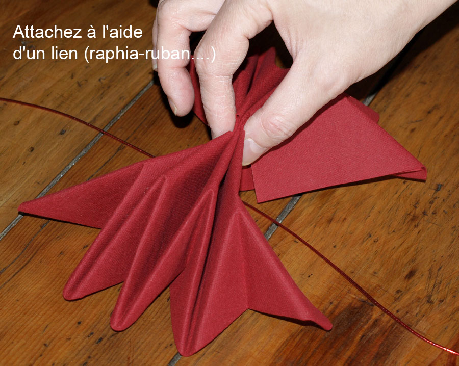 1000 images about pliages de serviettes on pinterest napkins origami and - Pliage serviettes de table ...