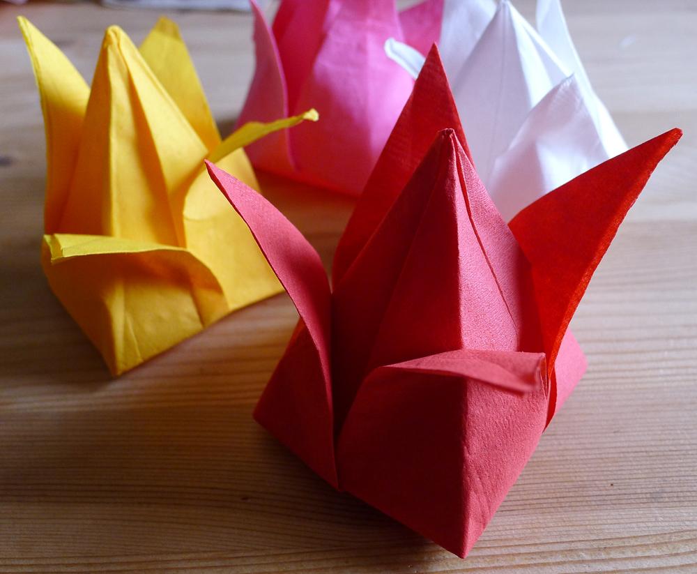 Pliage Serviette Papier Coquillage