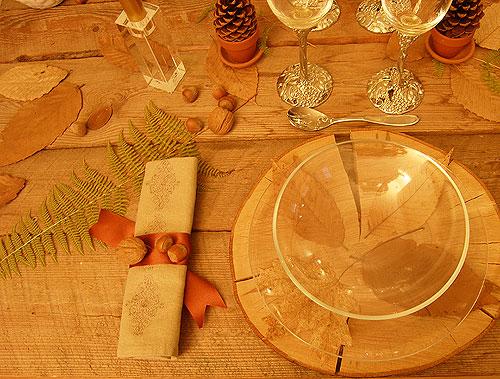 Table de no l rustique france gastronomie recettes de for Deco 8 jours pour tout changer