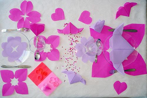Decoration saint valentin fabriquer accueil design et mobilier - Table de saint valentin ...