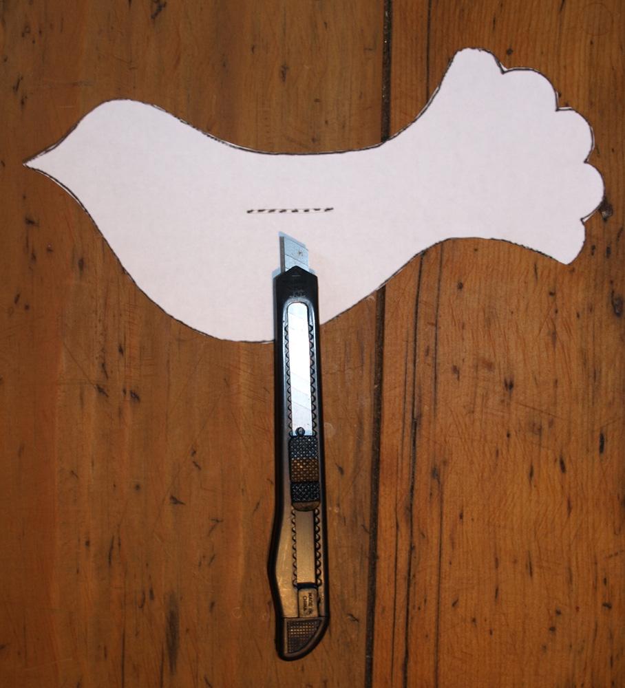 Recette Et Bricolage De La Colombe De Paques Colombe En Papier De