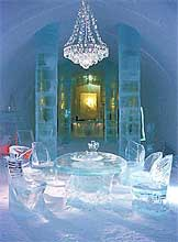 su de ice hotel h tel de glace gastronomie recettes de cuisine et traditions en europe. Black Bedroom Furniture Sets. Home Design Ideas